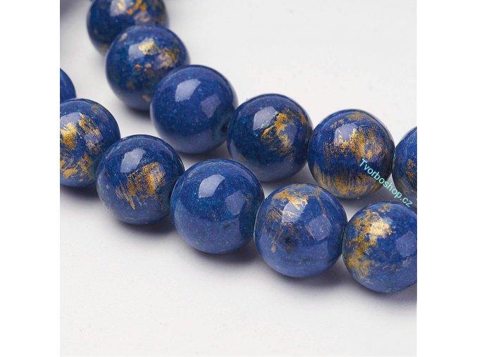 Jadeit modrozlatý 8 mm