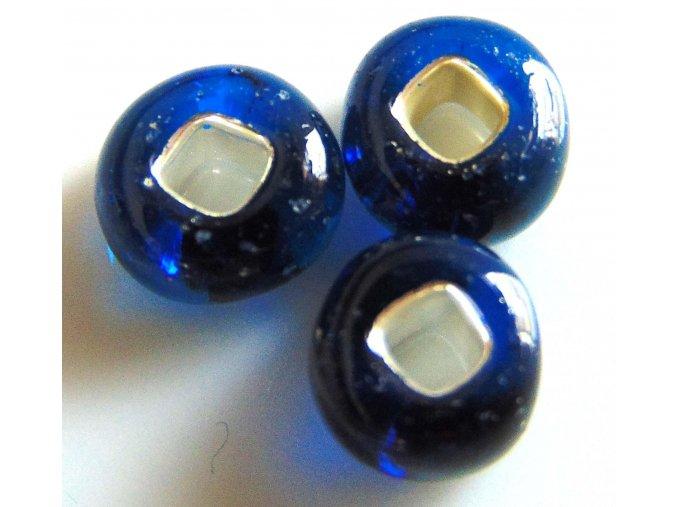Modrá se stříbrným průtahem 92