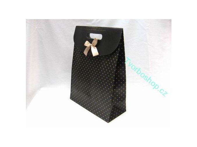 Dárková taška černá