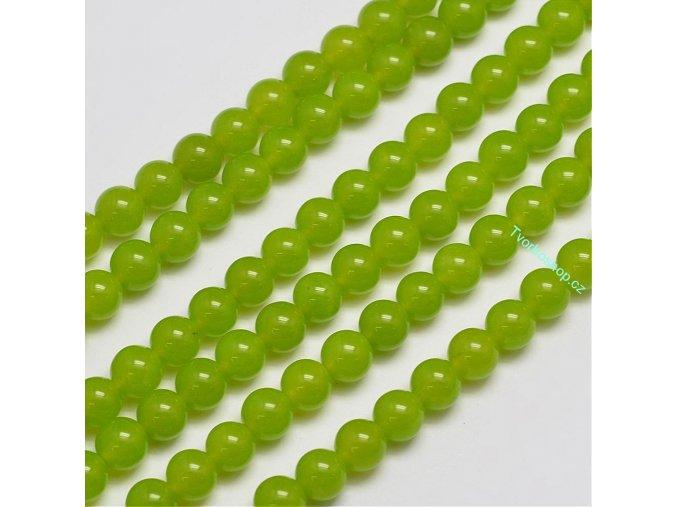 Jadeit zelený 8 mm