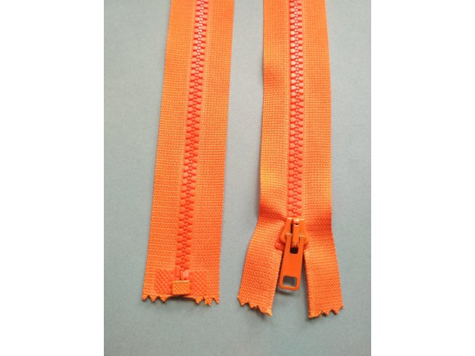 Zip oranžový- více variant