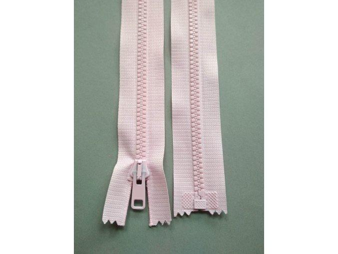 Zip světle růžový- více variant