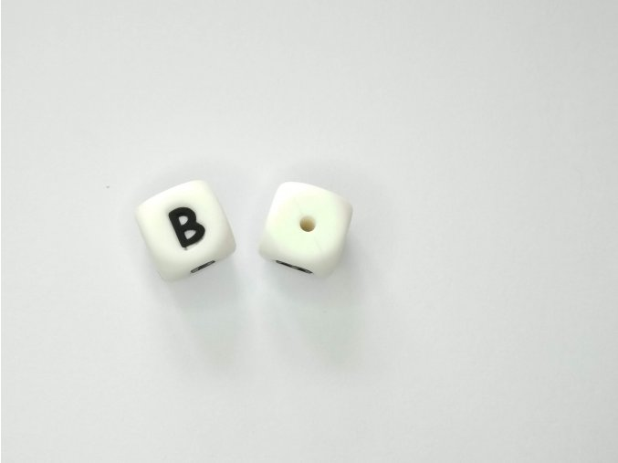 Silikonové písmeno #B