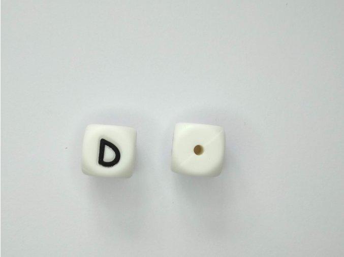 Silikonové písmeno #D