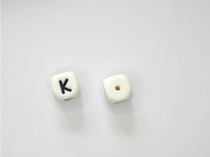 Silikonové písmeno #K