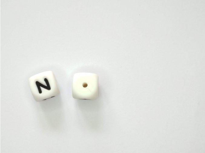Silikonové písmeno #N