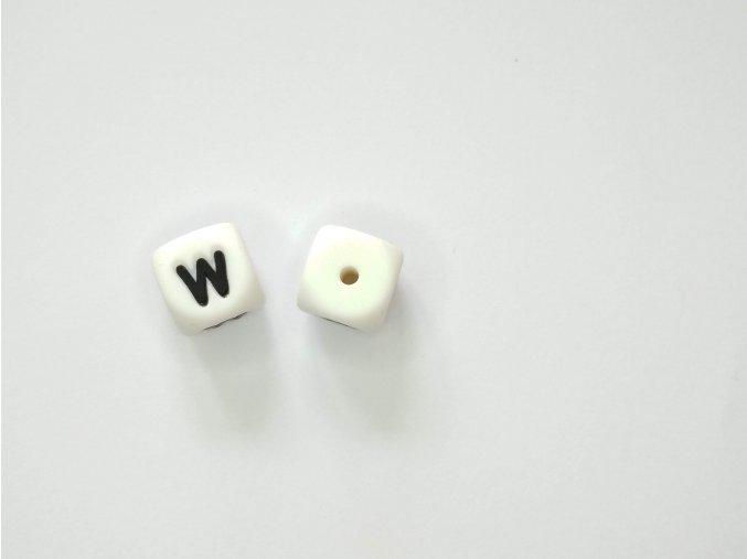 Silikonové písmeno #W