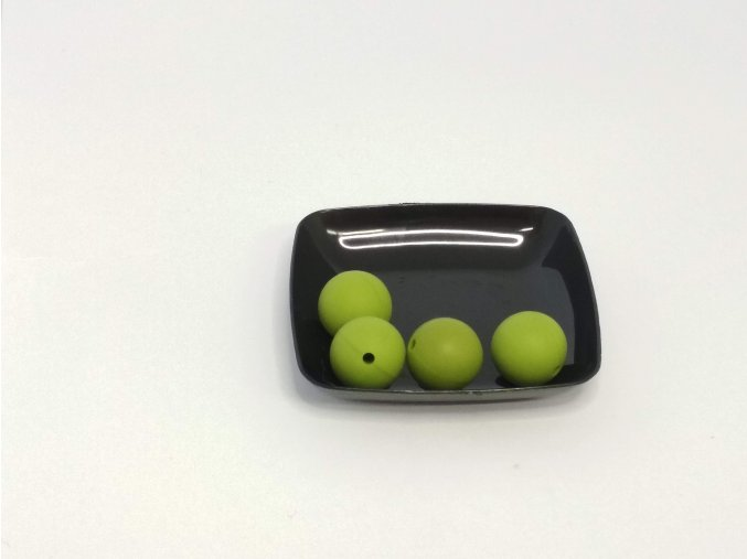 Silikonový korálek 12mm #27