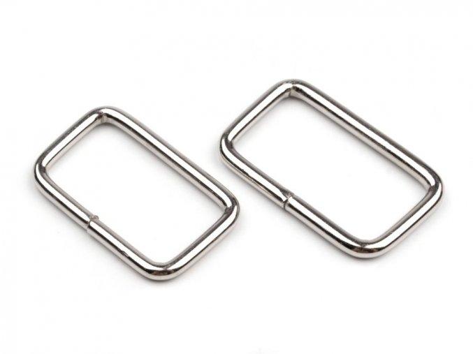 Vsuvka stříbrná 2 cm
