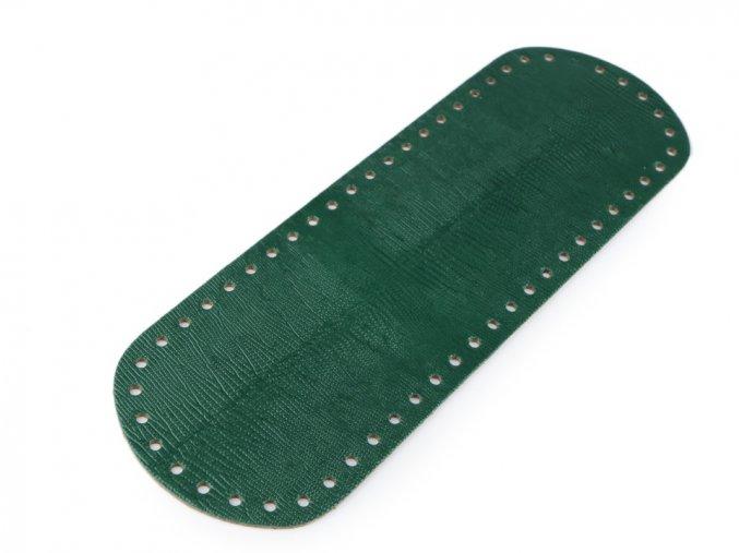 Dno tašky 10x30 cm tm.zelené se vzorem
