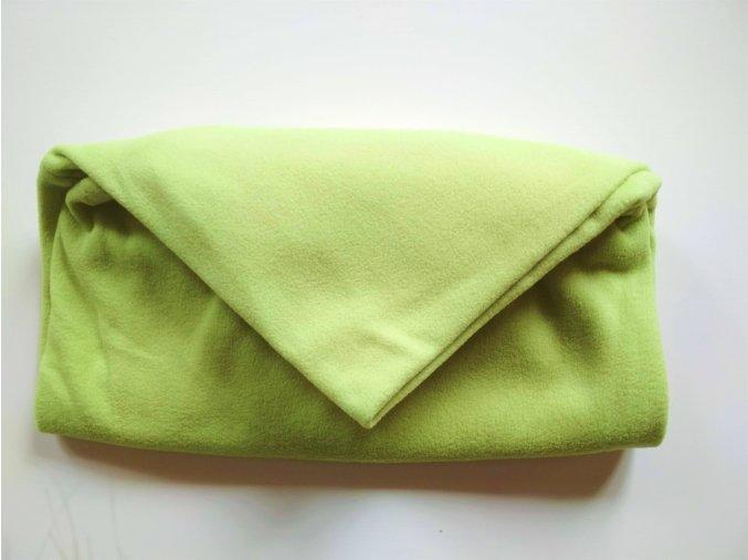 Vak do pufu 50x35 cm světle zelený