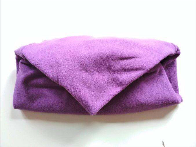 Vak do pufu 50x20 cm fialový