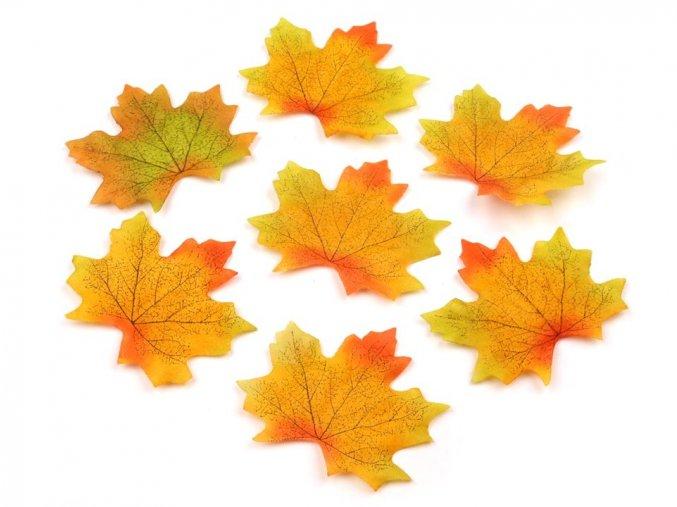 Javorové listy umělé 10 ks