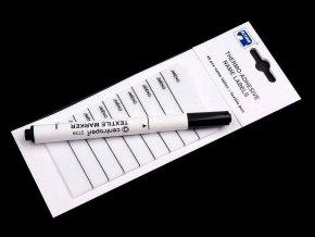 Nažehlovací štítek s popisovačem