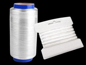 Silikonová pruženka / lastin šíře 10 mm elastická