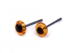 Skleněné oči napichovací Ø4-5 mm