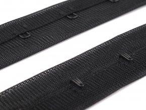 Zapínání korzetové PES šíře 25 mm jednořadé