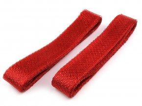 Modistická krinolína na vyztužení šatů a výrobu fascinátorů šíře 4 cm s lurexem
