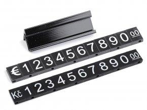 Plastové cenovky 7x12 mm