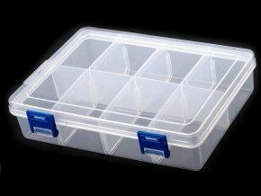 Plastový box / zásobník 13,5x20x4,6 cm