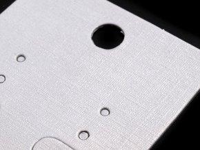 Karta na náušnice s visačkou a sáčkem 40x50 mm