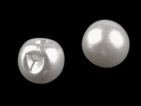 Perla k našití / knoflík Ø12 mm