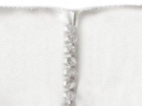 Knoflík na svatební šaty / elegantní Ø10 mm