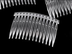 Hřeben plastový do vlasů 45x70 mm