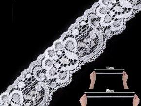 Elastická krajka šíře 35 mm