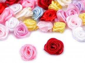 Saténová růže Ø13-15 mm