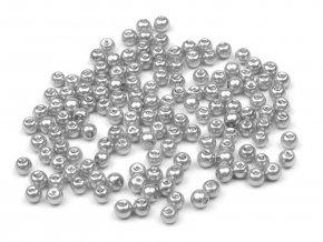 Skleněné voskové perly Ø4 mm