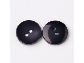 Knoflíky frozen černá 10 ks