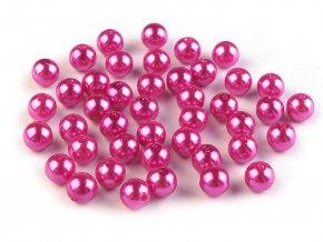 Plastové voskové korálky / perly Glance Ø8 mm
