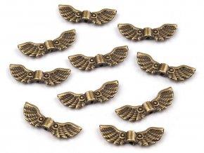 Ozdobný díl 7x22 mm křídla