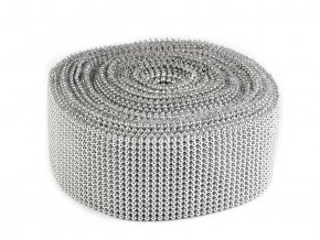 Borta šíře 50 mm s perlami