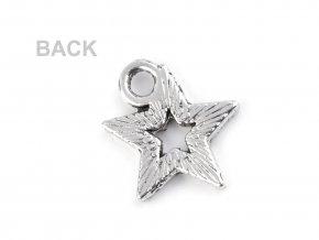 Přívěsek 12x12 mm hvězda