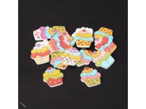 Knoflíky dortíčky
