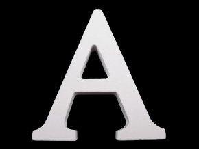 Dřevěná dekorace písmena abecedy