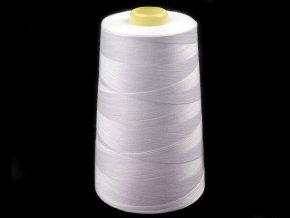 Polyesterové nitě pro overlocky i klasické šití návin 5000 yards PES 40/2 Jason bílé