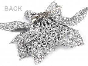 Vánoční hvězda se sponou Ø14,5 cm