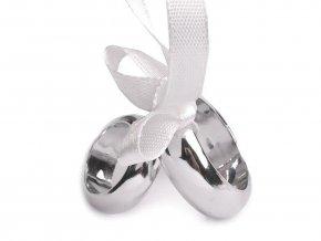 Dekorační svatební prsteny