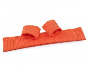 Elastické náplety šíře 7 cm sada (2x rukáv, 1x pás)