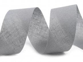 Šikmý proužek bavlněný šíře 30 mm nezažehlený