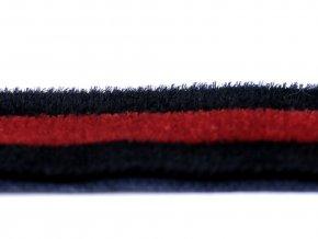 Lampas / oděvní stuha sametová šíře 15 mm