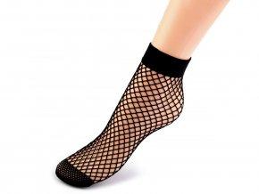 Síťované ponožky a podkolenky