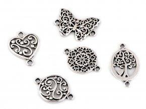 Filigránový našívací motýl, mandala, srdce, strom života