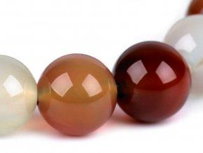 Náramek z minerálů, achát multicolor