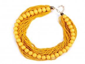 Náhrdelník z rokajlu s perlami
