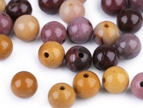 Minerálové korálky Jaspis mookait Ø6 mm