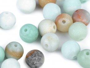Minerálové korálky Amazonit matný Ø6 mm